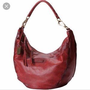NEW Frye Jenny Hobo Bag Burnt Red